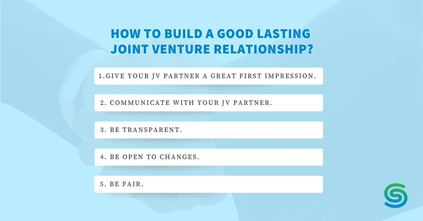 Secret to lasting JV partnerships