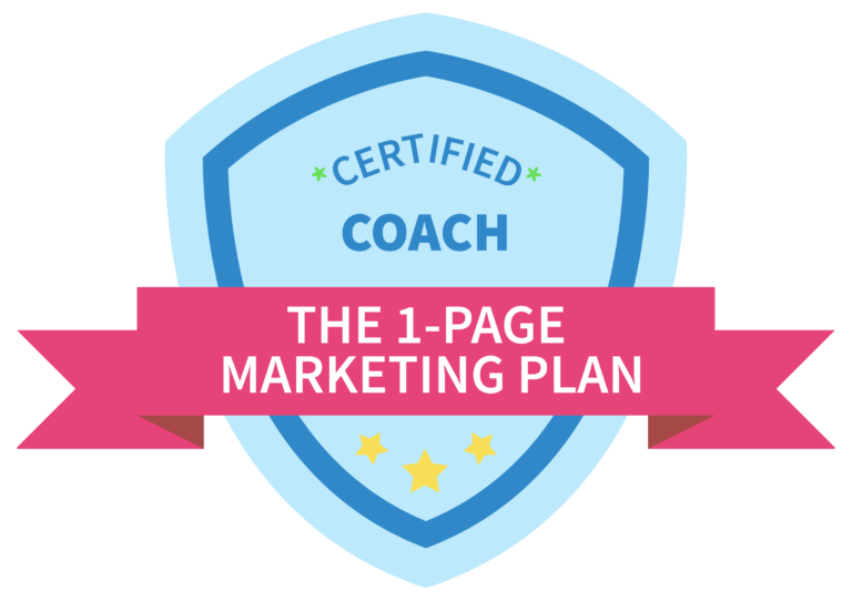 Certified Marketing Coach