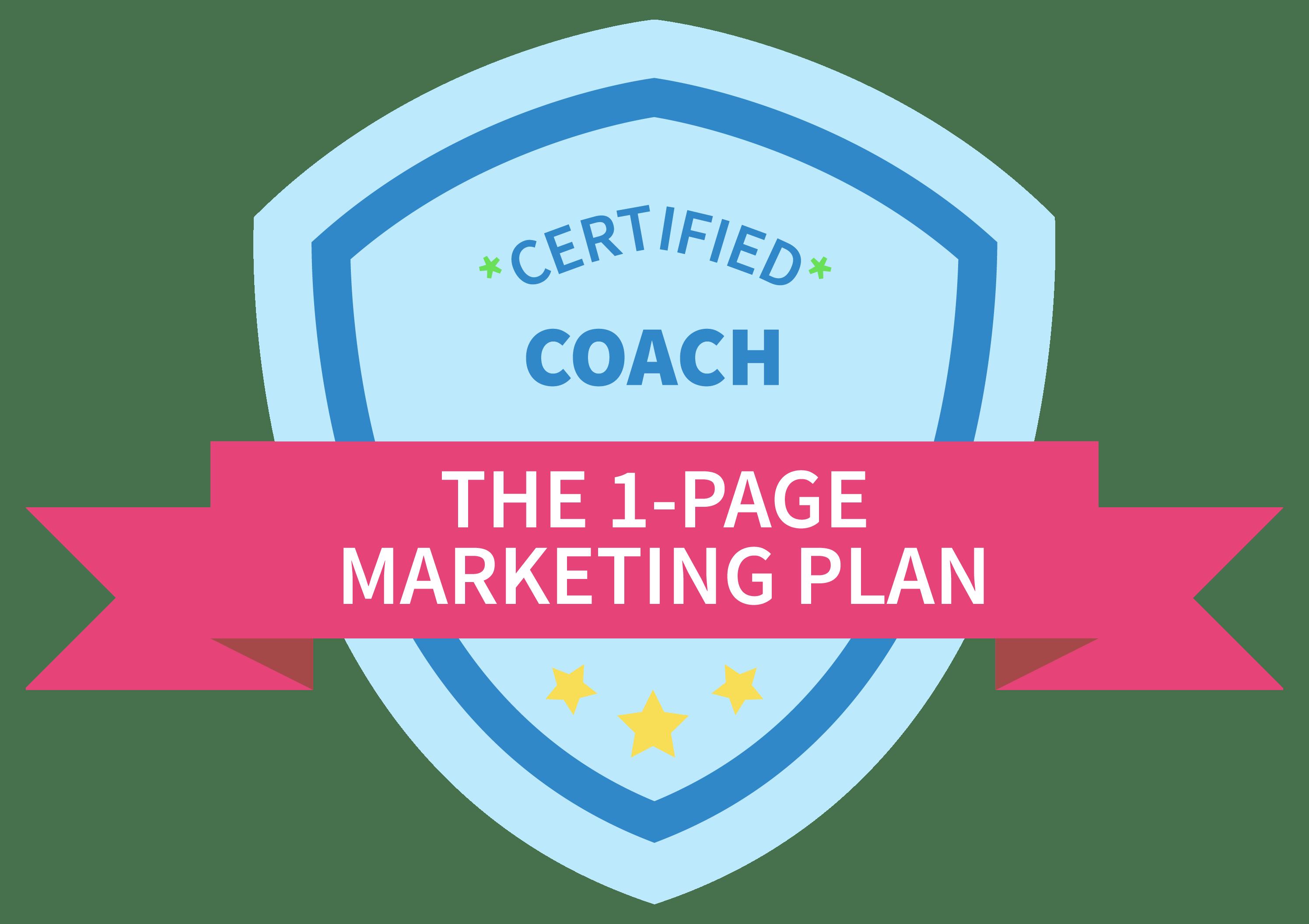 Certified Marketing Coach