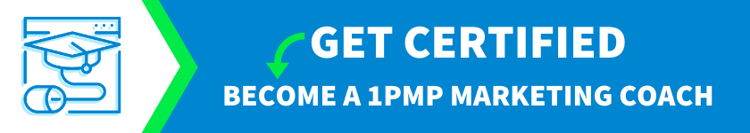 Become A Certified 1Page Marketing Plan Coach