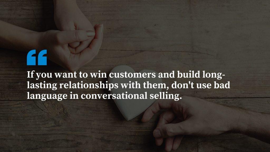 Bad Sales and Marketing Language