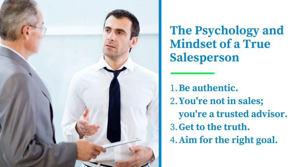 The Psychology and Mindset of a True Salesperson