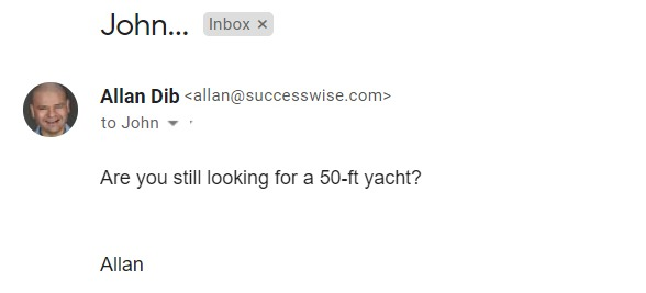 Are you still looking for a 50-ft yacht